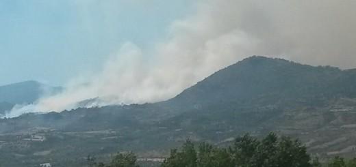 Villapiana incendio 1