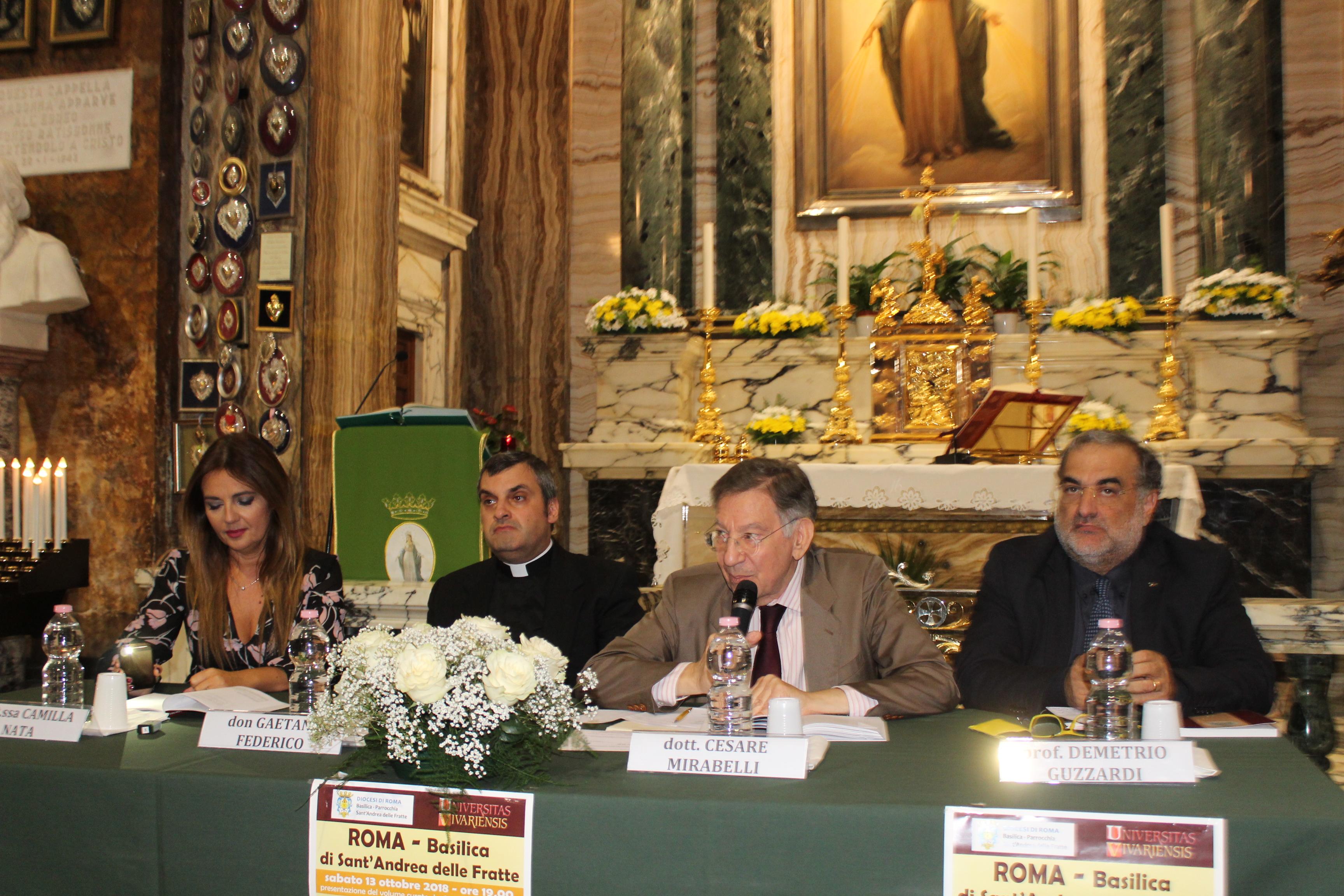 Andrea Ciliberti presentato anche a roma il libro su monsignor antonio