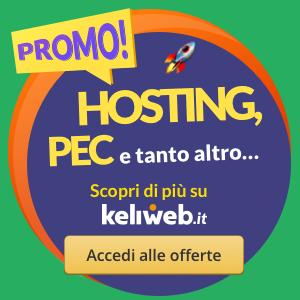 Keliweb Domini e Hosting per Siti Web