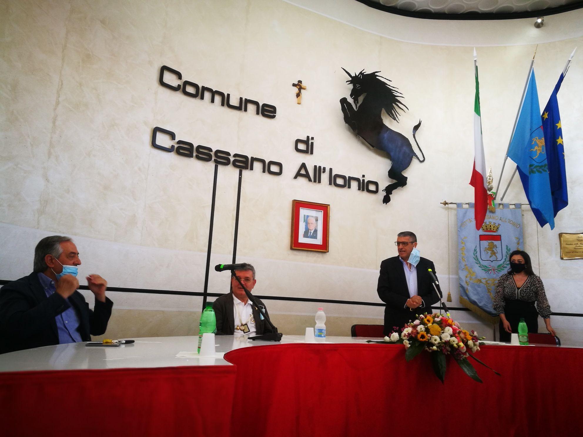 Cassano Visita Del Vice Presidente Della Giunta Regionale Spirli Informazione E Comunicazione